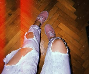 jeans, lights, and outfit image