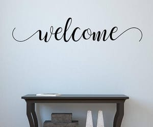 etsy, home decor, and welcome signs image