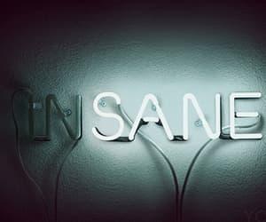 insane, light, and neon image