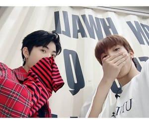 Q, hyunjoon, and 더보이즈 image