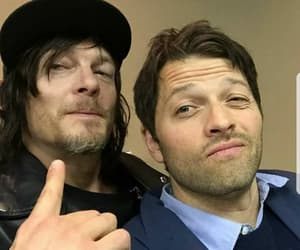 supernatural, misha collins, and norman reedus image