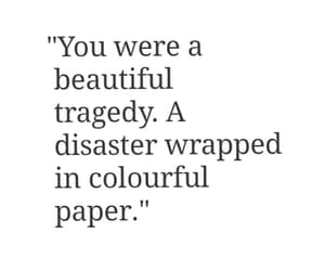 beautiful, broken, and colourful image
