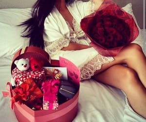girl, rose, and luxury image