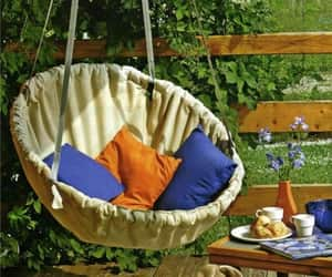 comfortable, outdoors, and swing image