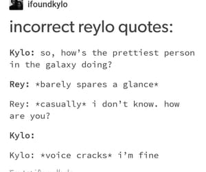 smooth, rey, and funny image