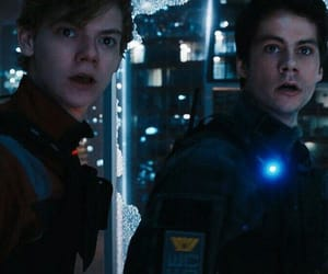 newt, thomas, and the death cure image