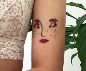 tattoo, art, and pretty image