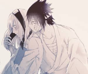 anime, sasuke, and cute image
