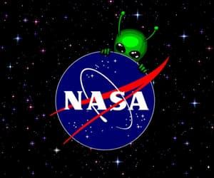 alien, gif, and nasa image