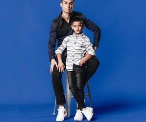 baby, cristiano ronaldo, and daddy image