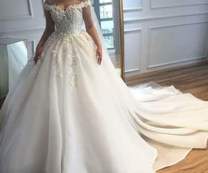 beautiful and wedding dress image