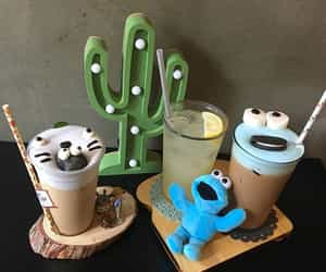 aesthetic, food, and cactus image
