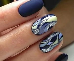 aesthetic, beauty, and nail art image