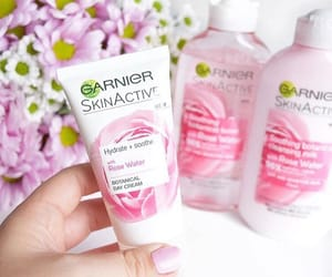 girls, pink, and skincare image