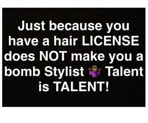 hair, hairstylist, and license image