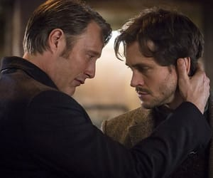 hannibal, will graham, and hannibal and will image