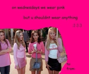 card, mean girls, and valentine image