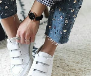 crystal, fashion, and jeans image