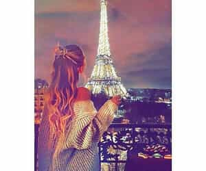girl, happy, and paris image