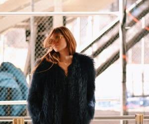 coat, cool, and fur image