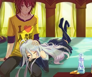 anime, shiro, and sora image