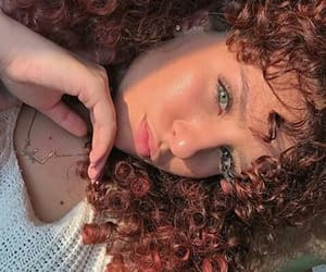 curly, eyes, and france image