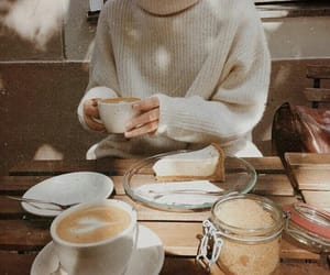 coffee, autumn, and food image