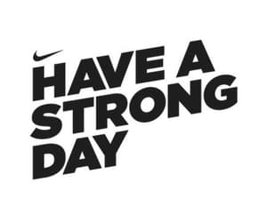 nike, strong, and motivation image