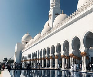 Dubai, mosque, and UAE image