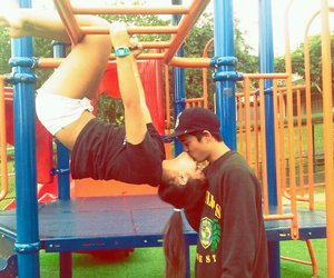 boy, cute adorable, and couple image