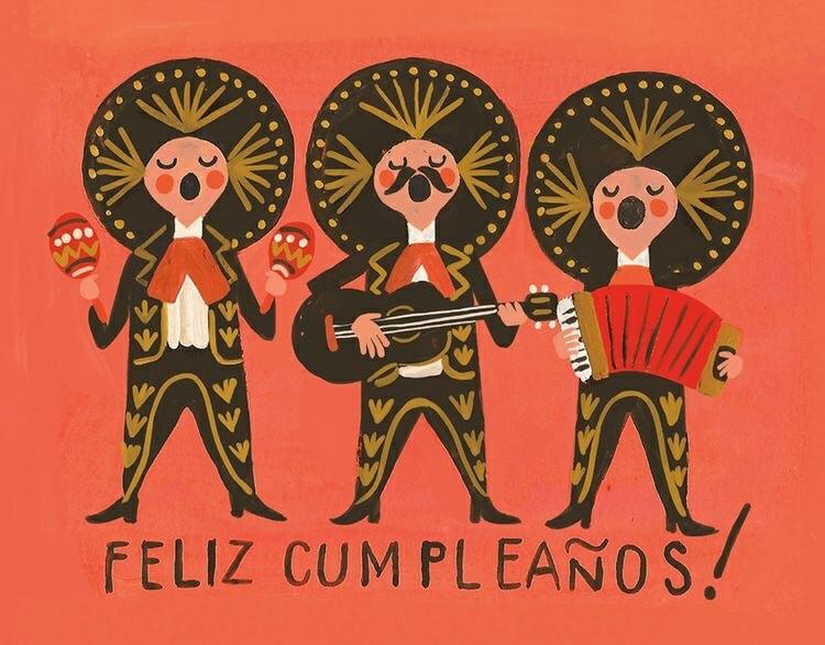 Feliz cumpleano con mariachi