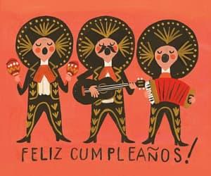 happy birthday, feliz cumpleanos, and mariachi image