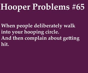 hooper, hula hoop, and problems image