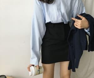 asian fashion, korean fashion, and outfits image