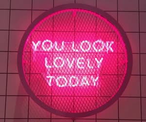neon, lovely, and quotes image