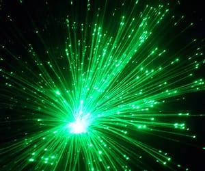 green, neon, and vihrea image