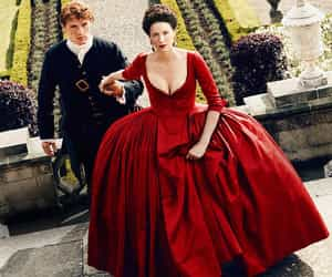 outlander and claire fraser image