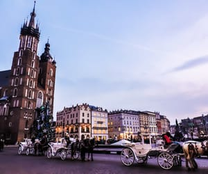 beautiful places, christmas, and Krakow image