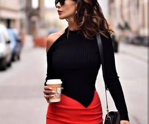 black, look, and outfit image