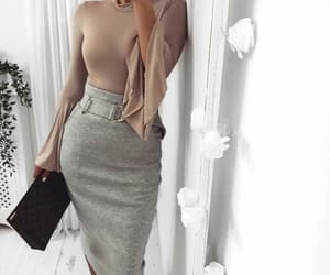 outfit fashion, inspiration style, and goals girly image