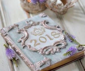 books, 2018, and shabby chic image