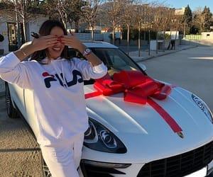 car, gift, and girly image