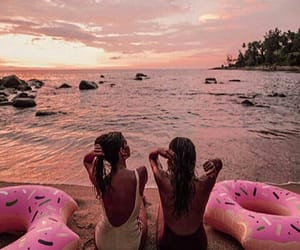 amazing, donuts, and float image
