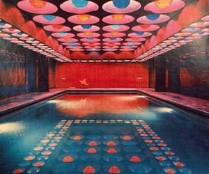 colours, lights, and pool image