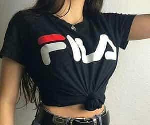 fashion, Fila, and clothes image
