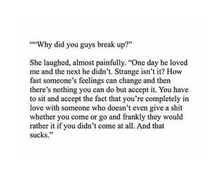 breakup, broken heart, and couple image