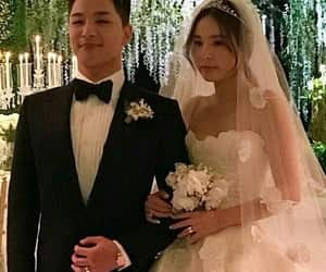 beautiful, kpop, and wedding image