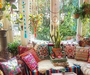 hippie, boho, and home image