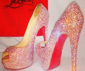 christian louboutin, design, and high heels image