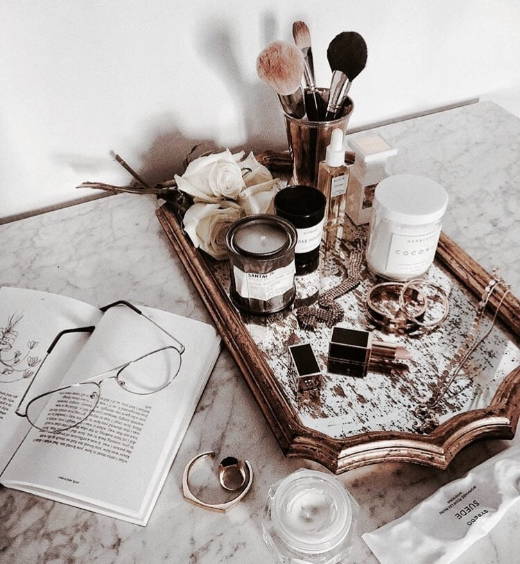 book, luxury, and makeup image
